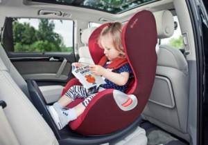Es obligatorio llevar silla de seguridad