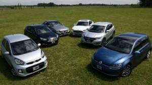 Los 5 coches más seguros del 2015.