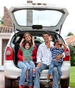 Los mejores destinos para viajar en coche en familia
