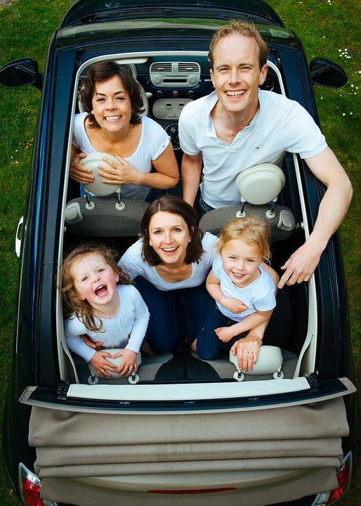 Que coche necesitas para tus hijos-familia completa